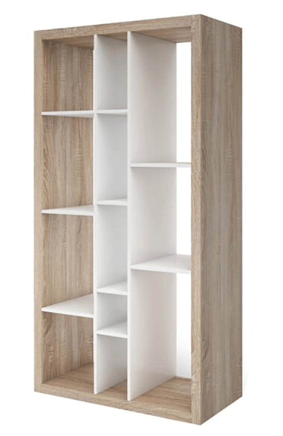 tall back dining chairs stackable resin lawn oak effect bookcase ruby wide open room divider